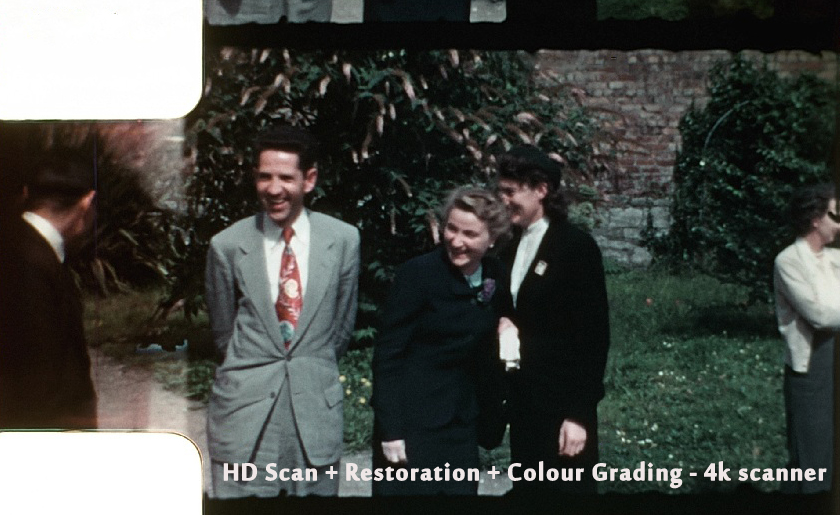 HD Scan + Restoration + Colour Grading - 4k scanner