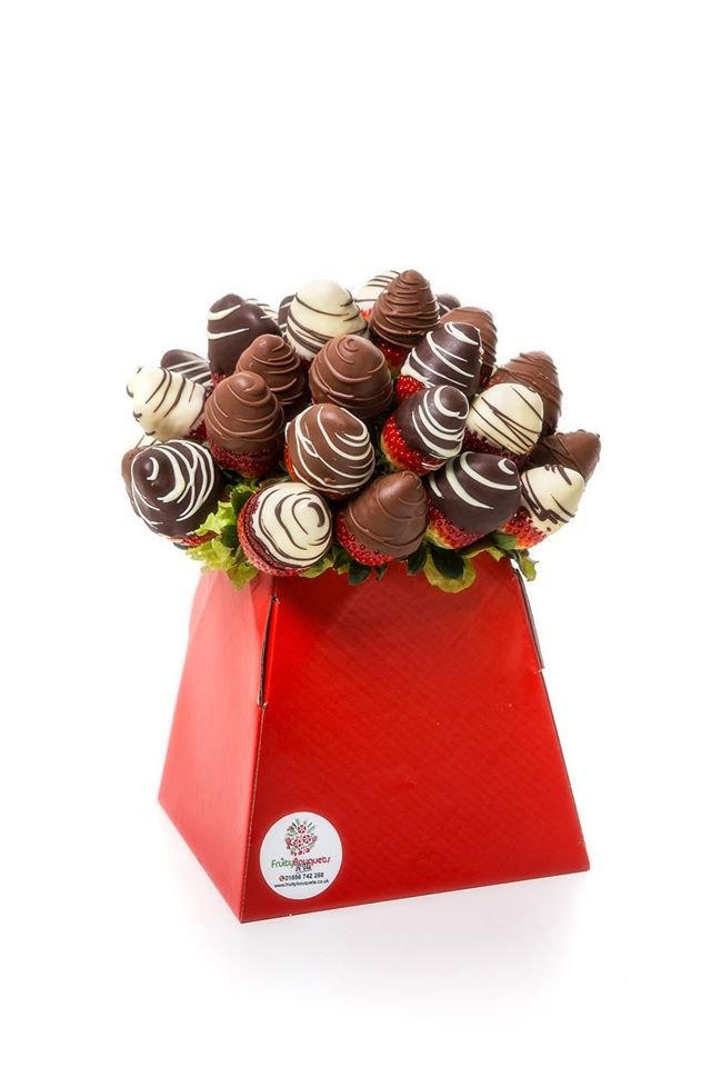 Chocolate Strawberries Fruity Bouquets