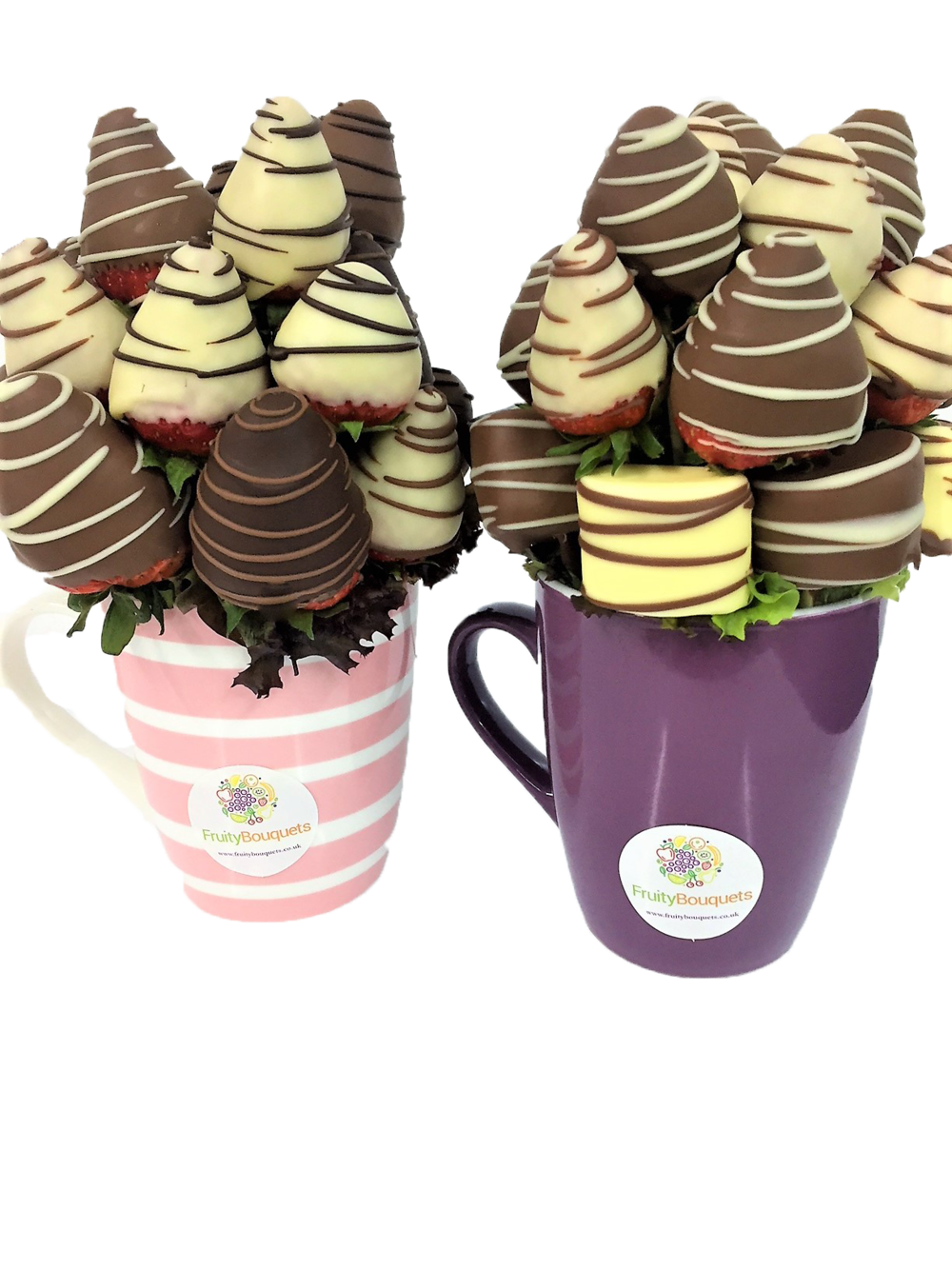 chocolate strawberry Gift Mug by Fruity Bouquets 2.png