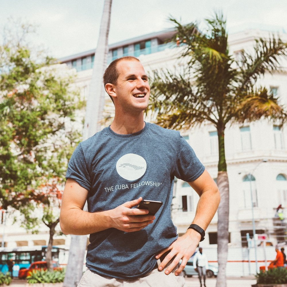 Executive Director Joshua de Gastyne in Cuba