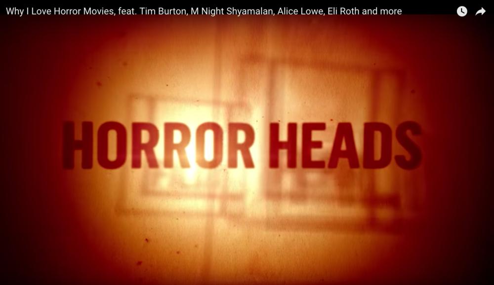 Interview for Film4 Horrorheads