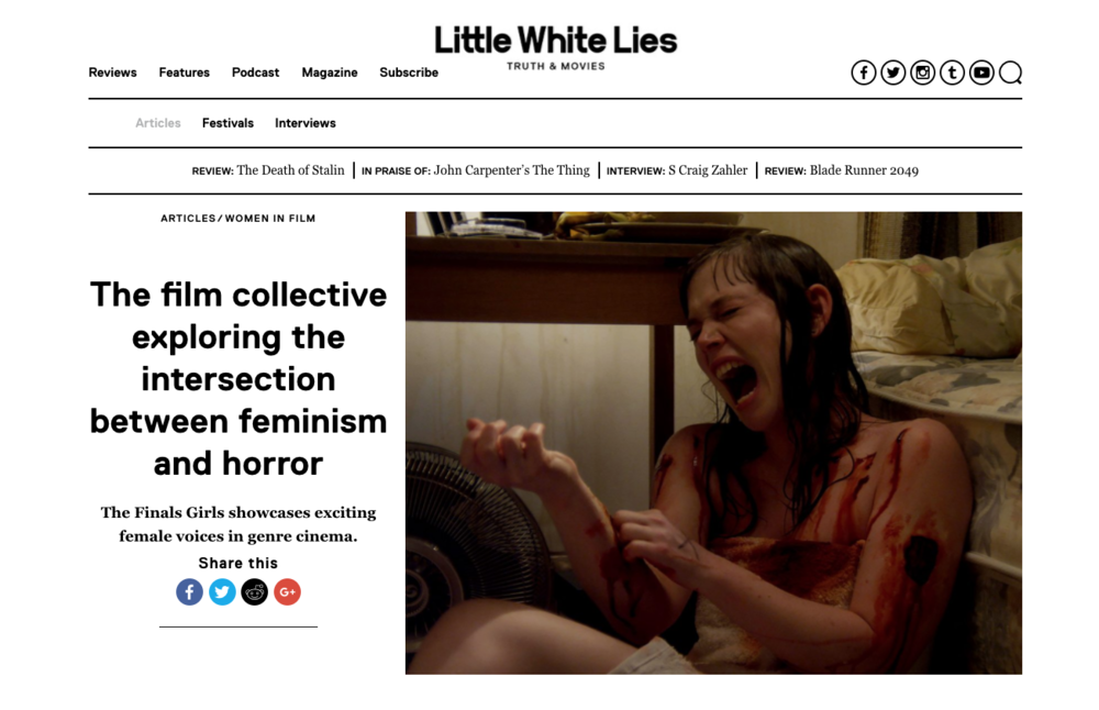 The film collective exploring the intersection between feminism and horror  - Little White Lies 25th Oct 2017