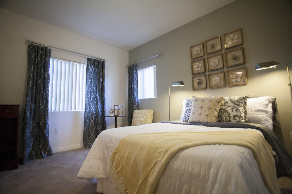 Bedroom at Crescent Heights