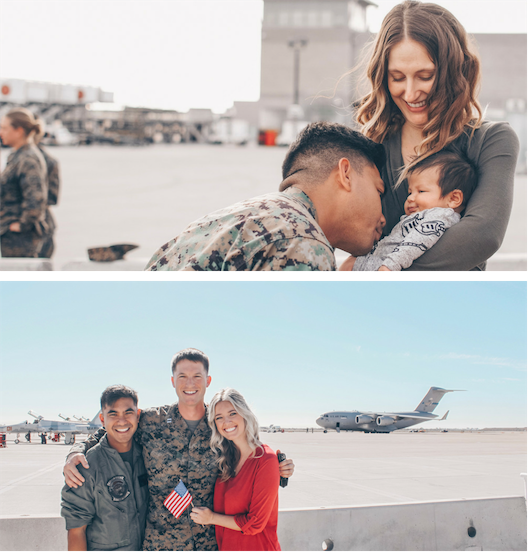 What Makes Us Different - Sip Dine Design is proud to be a female owned and run business. Our Founder, Lo, and Brand Manager, Lauren, met when their husbands served together in the Marine Corps. We continue to have strong ties to our military community which to us will always remain as close as family.