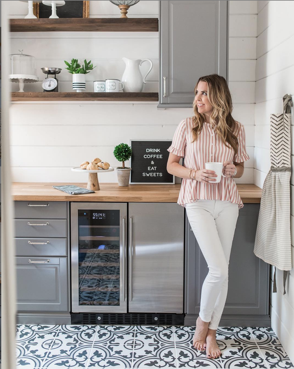 A Thoughtful Place - Courtney's blog is the perfect place to look for shopping inspiration with serious style. She talks fashion, home decor, and a life lesson or 10. I'm currently loving her bathroom renovation on a budget.