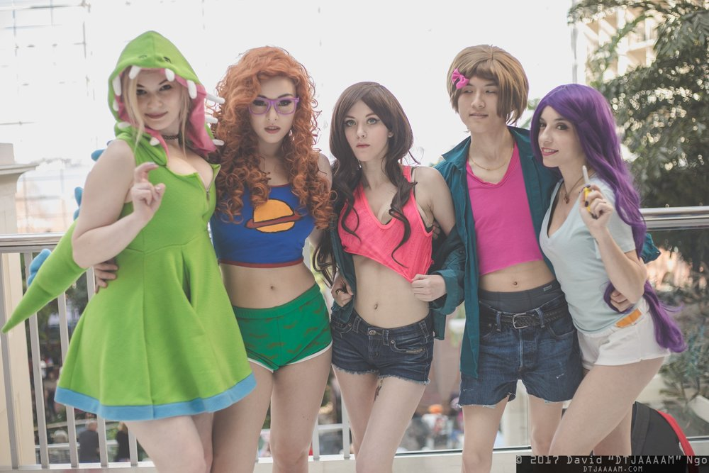 Reptar:  Koi Fish Asylum , Chuckie:  Dollilicious , Phil: Me, Lil:  Boyfriend Cosplay & Photography , Tommy:  Monica   Photo taken by  David Ngo