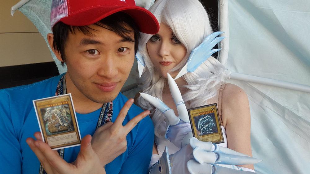 Kelvin and I are Yu-Gi-Oh trash!