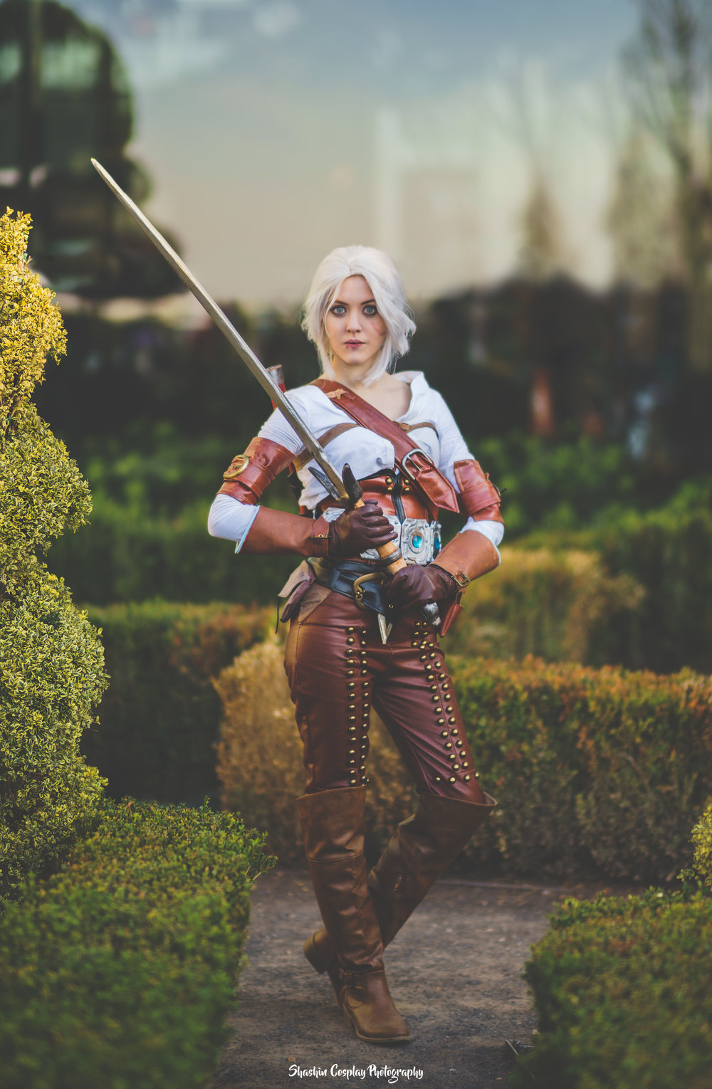 Cirilla Fiona Elen Riannon , from The Witcher 3. Photos by  Shashin Cosplay Photography