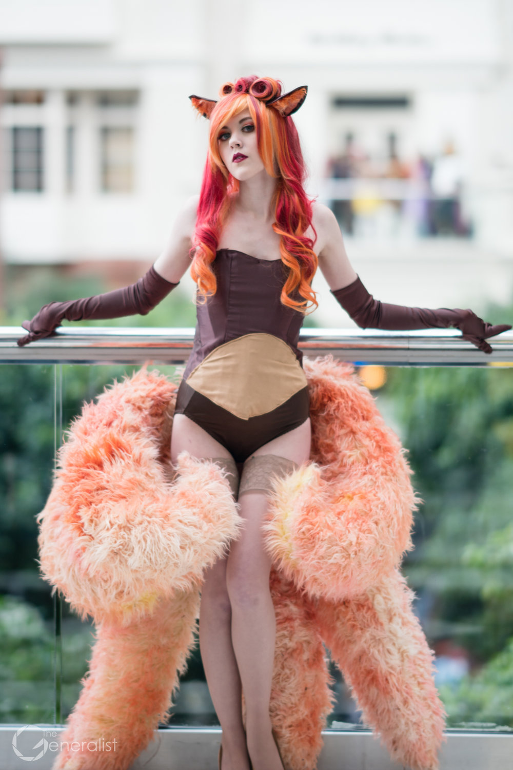 Vulpix , original burlesque design, from Pokemon.  Photos by  Vander Photography