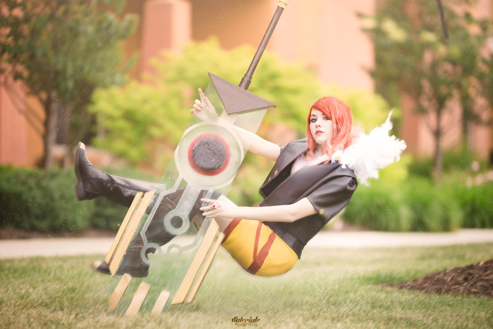 Red , from Transistor. Photos by  Sateriale Productions