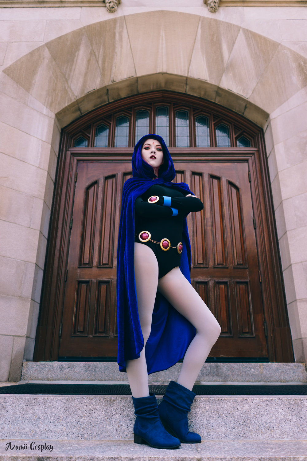 Raven  from Teen Titans. Photo by  Shashin Cosplay Photography