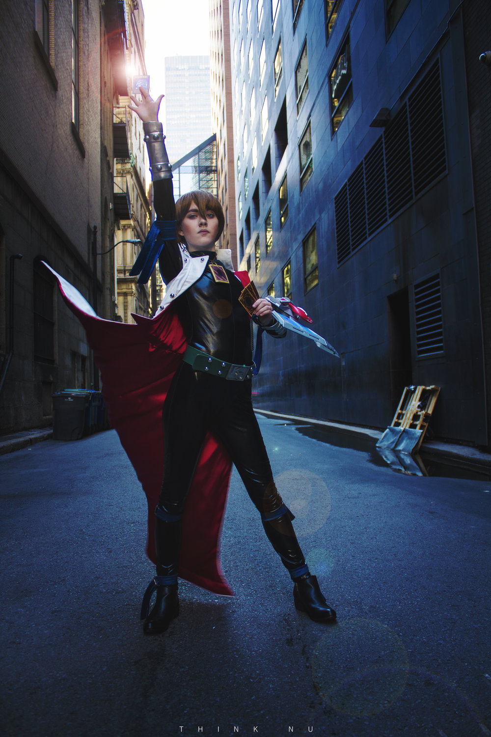 Seto Kaiba , from Yu-Gi-Oh! Duel Monsters. Photos by  Think.Nu