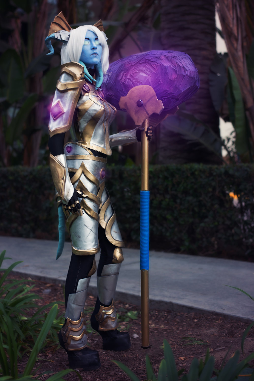 Exarch Yrel , from World of Warcraft. Photos taken by  Jason Freeman Photography