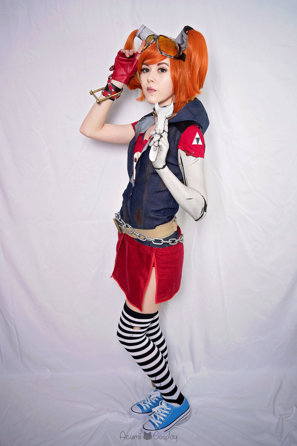 Gaige,  from Borderlands 2. Photo by   Boyfriend Cosplay  & Photography