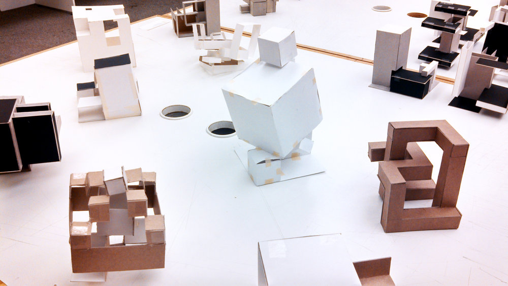 Study models on display at OPEN