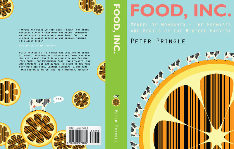 Food, Inc. — Book Cover Design