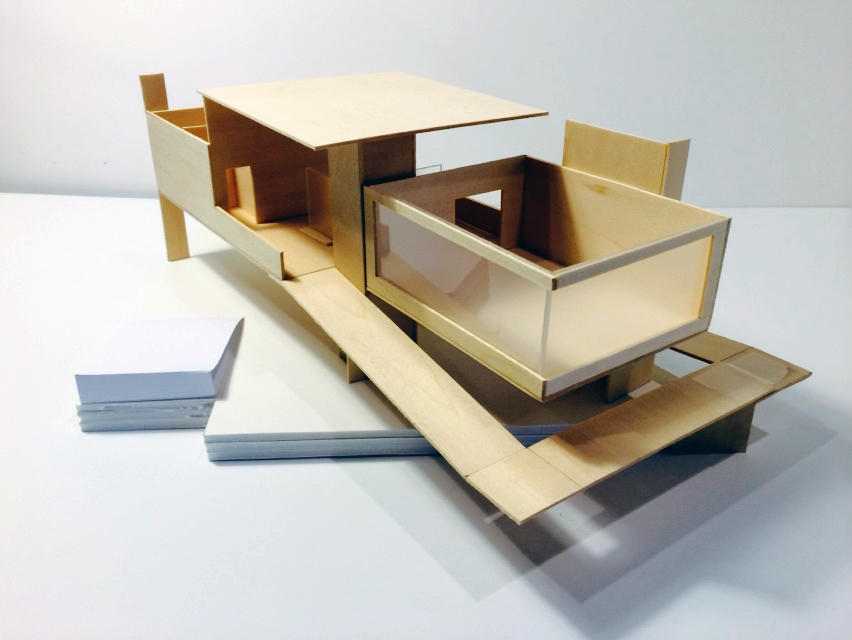 Studio I — Teaching, Interior Architecture
