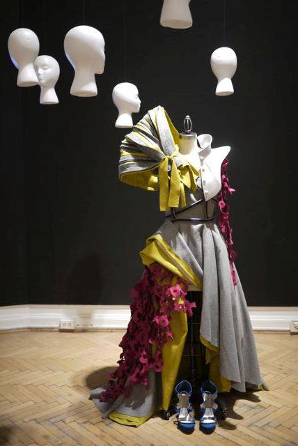 Cosmo Couture — Dress + Exhibit (collaboration)