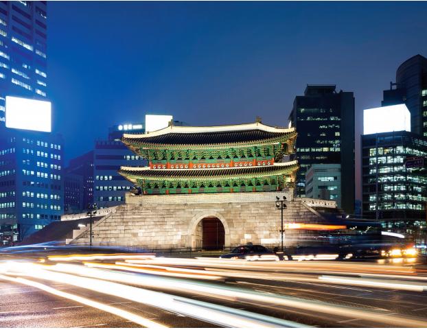 창덕궁 금마문 - 서울 종로에 자리한 창덕궁 후원의 금마문