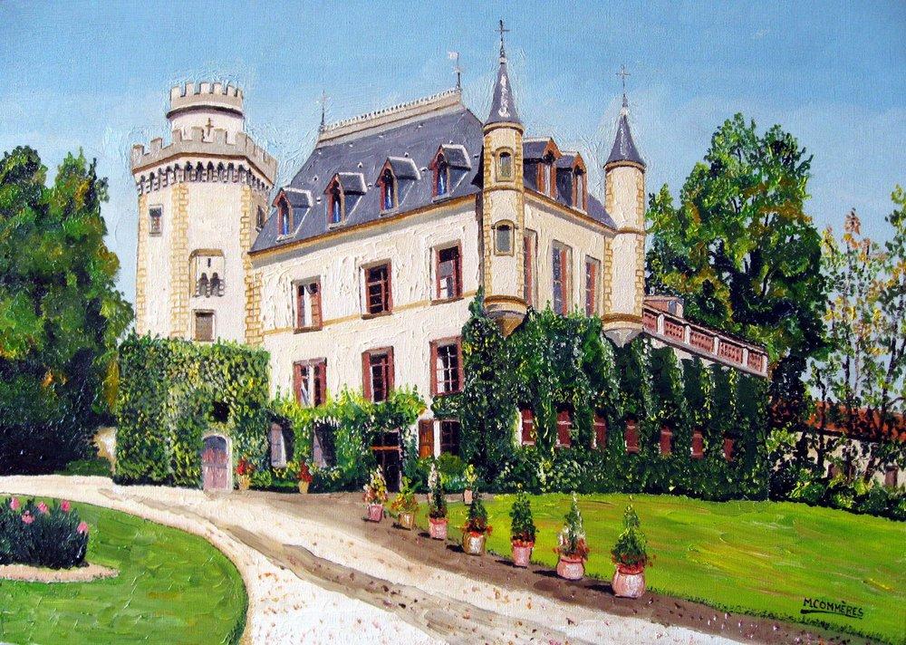 Château de Nux à Barran