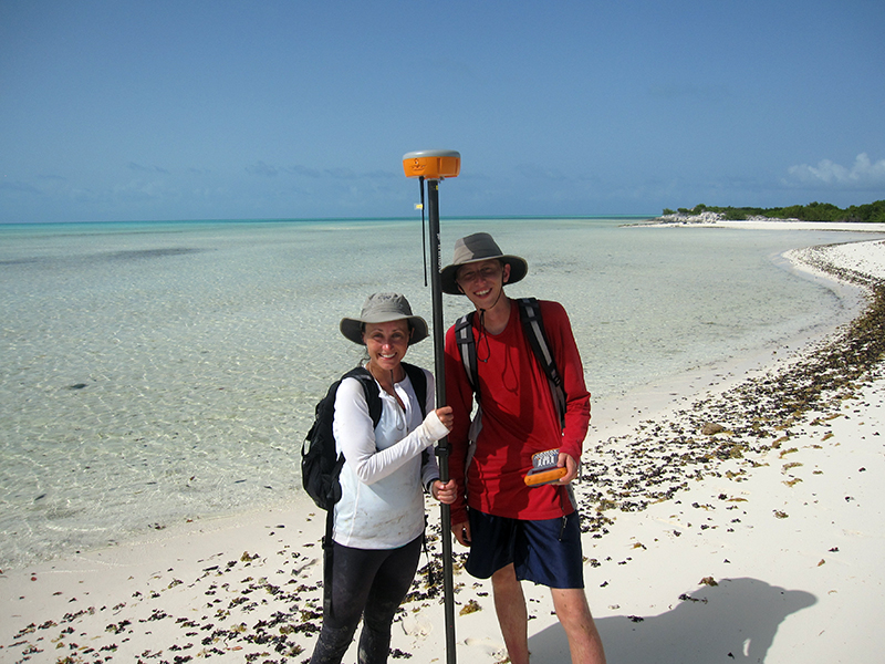 "GPS graduate student Nathan Stein (at right) conducting summer research fieldwork on Turks and Caicos's Little Ambergris Cay, along with Maya Gomes from Johns Hopkins.  Photo          96              Normal   0           false   false   false     EN-US   X-NONE   X-NONE                                                                                                                                                                                                                                                                                                                                                                                                                                                                                                                                                                                                                                                                                                                                                                                                                                                                                     /* Style Definitions */ table.MsoNormalTable 	{mso-style-name:""Table Normal""; 	mso-tstyle-rowband-size:0; 	mso-tstyle-colband-size:0; 	mso-style-noshow:yes; 	mso-style-priority:99; 	mso-style-parent:""""; 	mso-padding-alt:0in 5.4pt 0in 5.4pt; 	mso-para-margin:0in; 	mso-para-margin-bottom:.0001pt; 	mso-pagination:widow-orphan; 	font-size:12.0pt; 	font-family:""Calibri"",sans-serif; 	mso-ascii-font-family:Calibri; 	mso-ascii-theme-font:minor-latin; 	mso-hansi-font-family:Calibri; 	mso-hansi-theme-font:minor-latin;}     courtesy John Grotzinger"