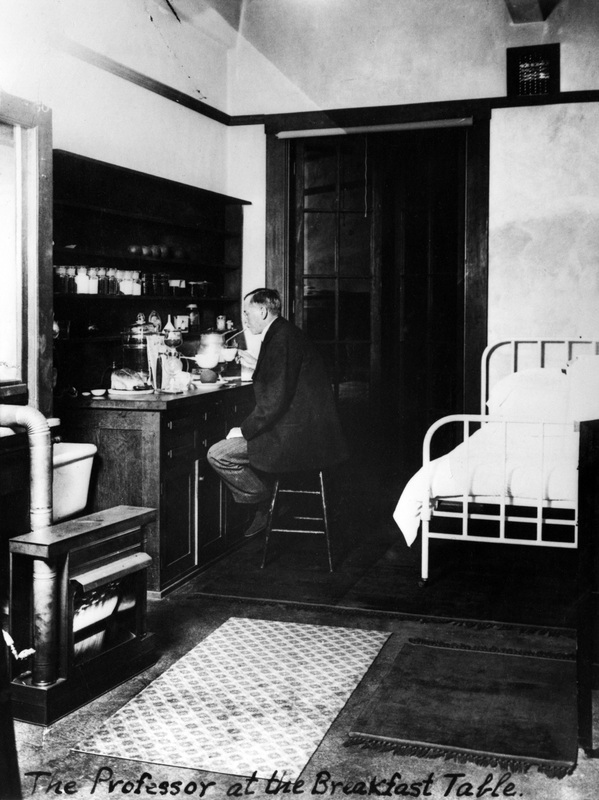Arthur Amos Noyes kept food and a cot in his office to ensure uninterrupted work.
