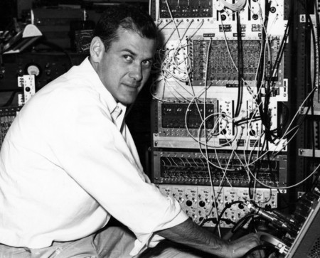Jerry Pine at the Brookhaven National Laboratory, circa 1965.  Photo: Caltech Archives