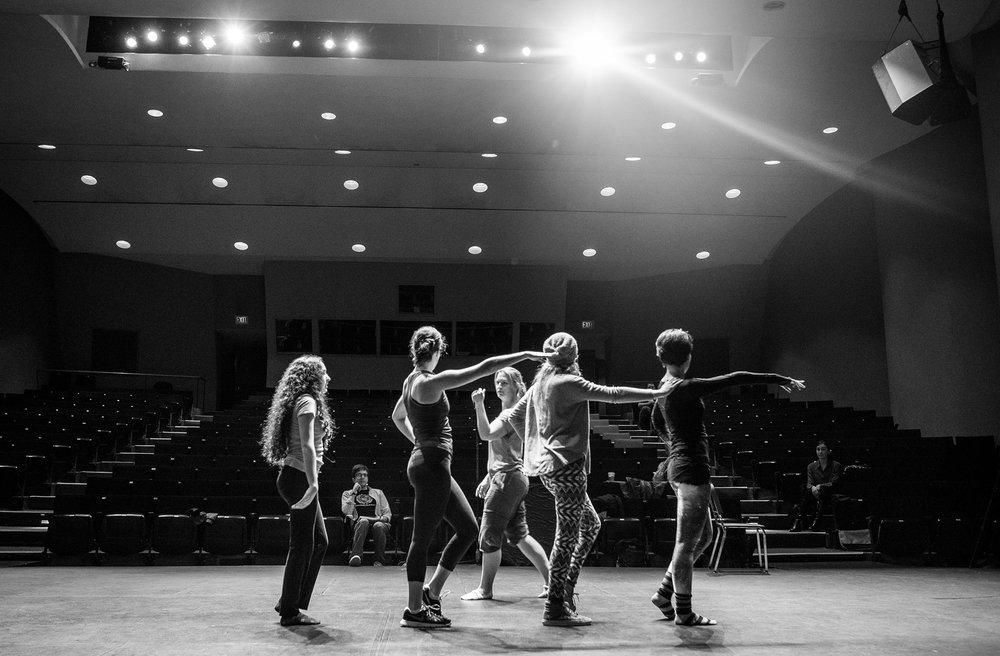 Teagan Wall heading up choreography for TACIT's 2016 production of  Boldly Go .