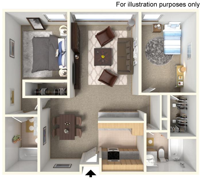 Arrow Floorplan