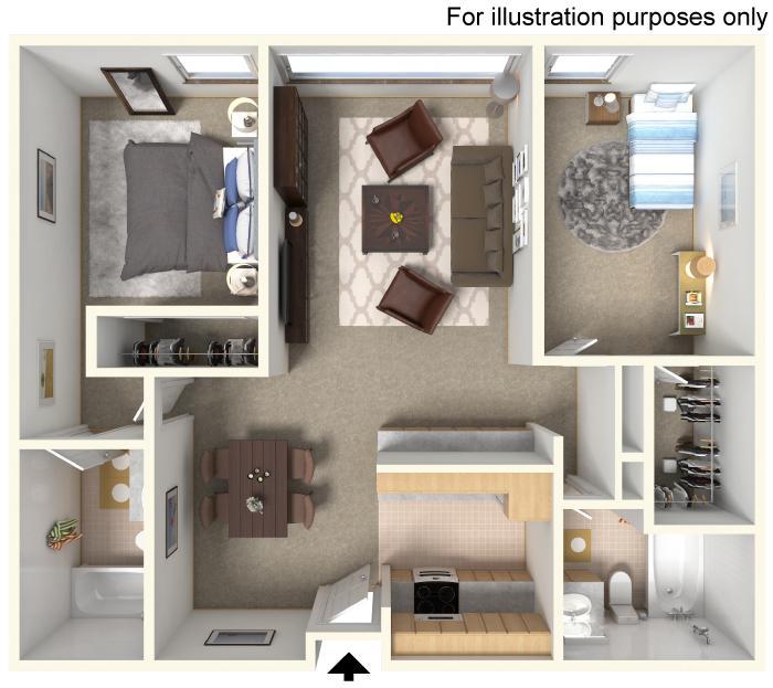 Arrow Floorplan