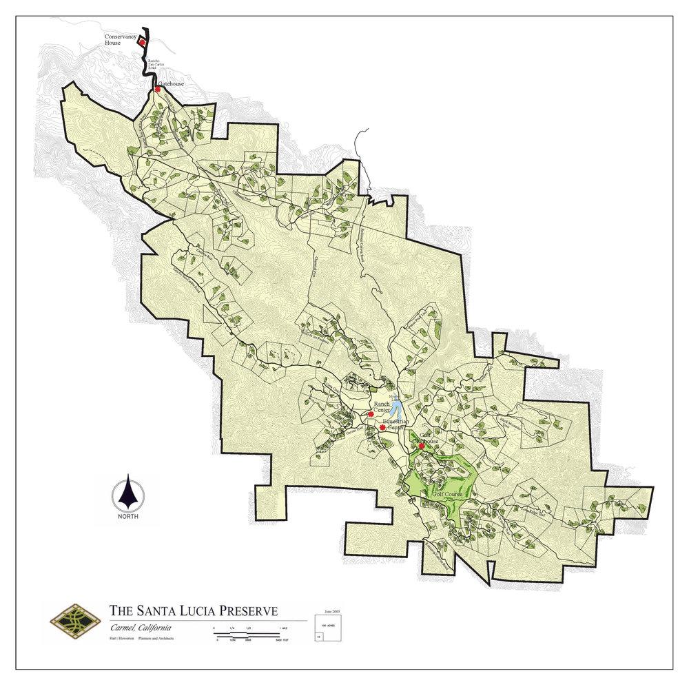 Preserve Map — Santa Lucia Preserve Realty on