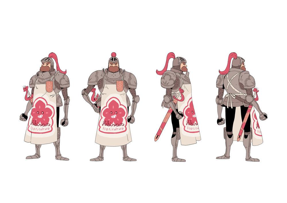 Cavaleiro de Hibiscus