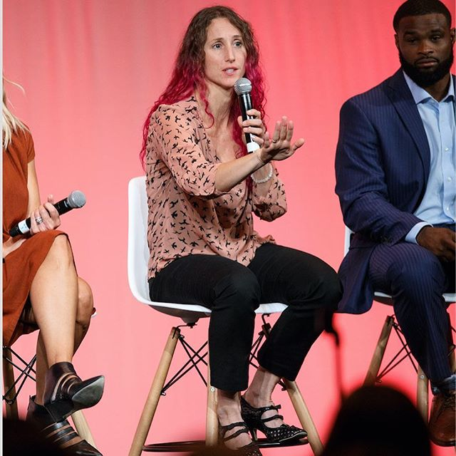 Check out our fearless leader Kristin's tips on attracting more clients, and how we plan to get a million people healthier on the latest podcast with Ahmad Munawar from #BoutiqueGrowth - Look at how engaged @twooodley is with @hurricanekristin during this sesh @mindbodybold 😳 ⛓in bio💥 #fit4biz #marketing #fitness #branding #fitrepreneur