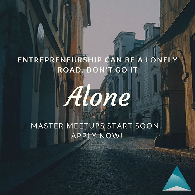 As a #solopreneur, you might do a lot of your work on your own, and do all of your strategic planning on your own, but you dont have to go it alone. ⠀ ⠀ #entrepreneurship can be a lonely road. #findyourtribe in a #mastermind group!⠀ ⠀ Registration ends 9/30⠀ ⠀ #acmastermeetups⠀ ⠀ #applynow⠀ #success #mastermind #accountability #growth #professionalgrowth #development #sales #entrepreneurship #money #business #coaching #businesscoach #accountability #support  #letsbegreattogether #acMasterMeetups #thiscouldbeus