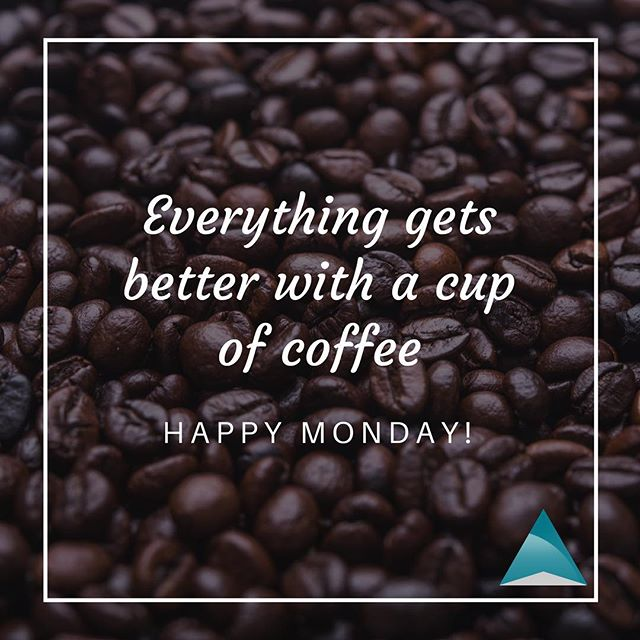 Everything in the world is better and all #Mondays are more productive. #happymonday! #coffee #productivity #entrepreneurlife #dallas