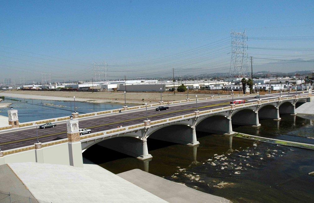 Proposed Bridge with New Aesthetics
