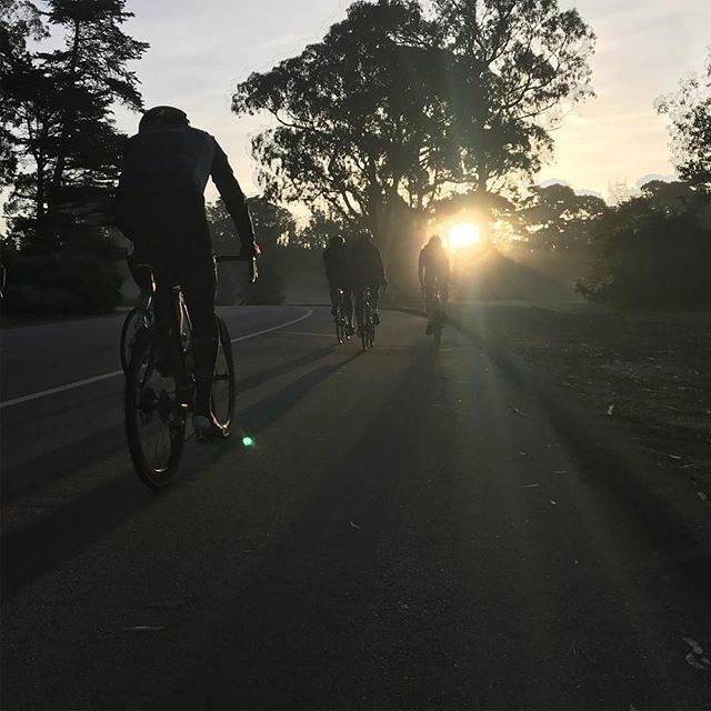 Not much better than a weekly coffee cruise.  Good crew, nice photo by @riste609