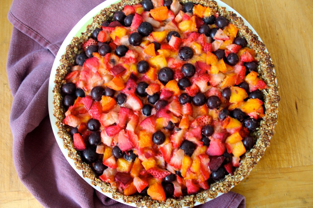 Seasonal Berry Pie