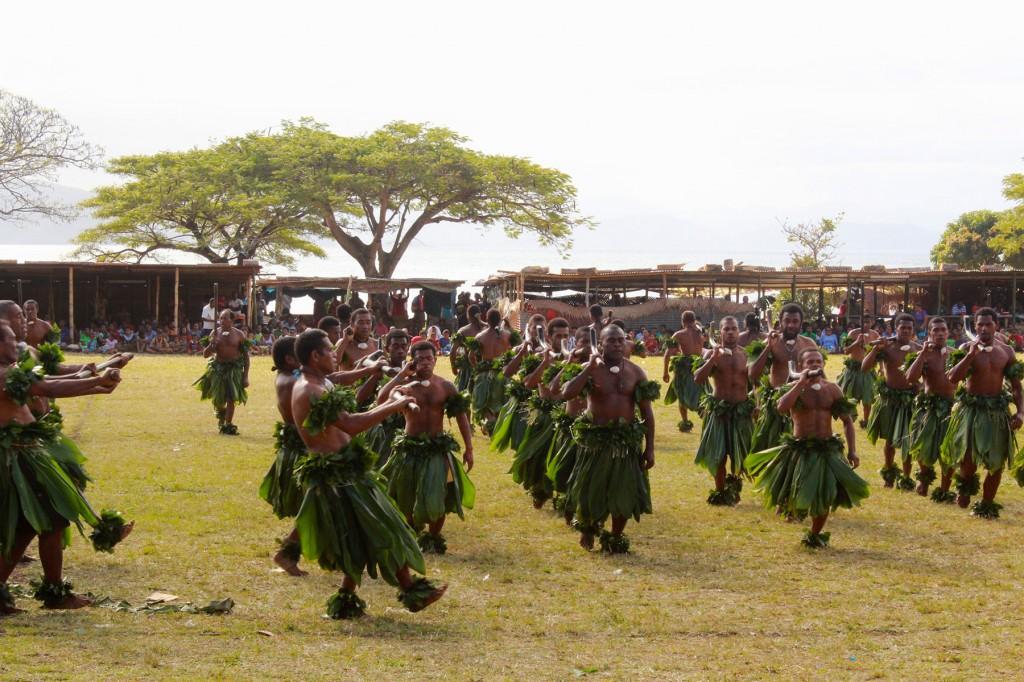 Fijian Dancers