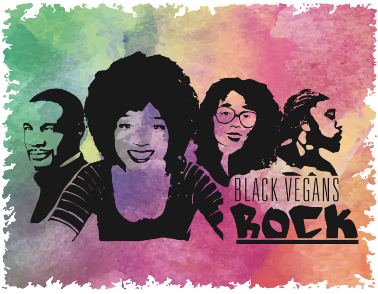 Black Vegans Rock logo