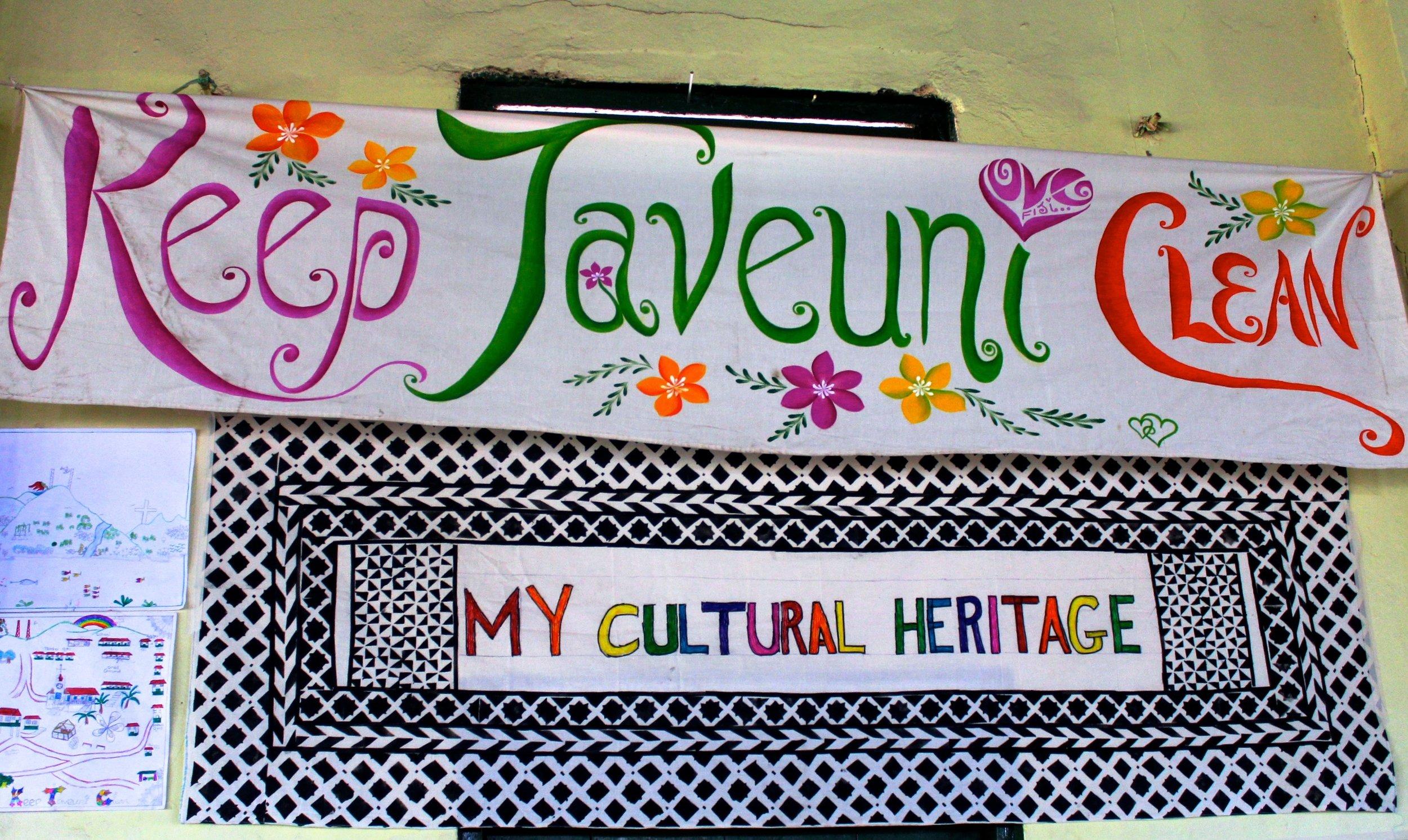 Keep Taveuni Clean banner