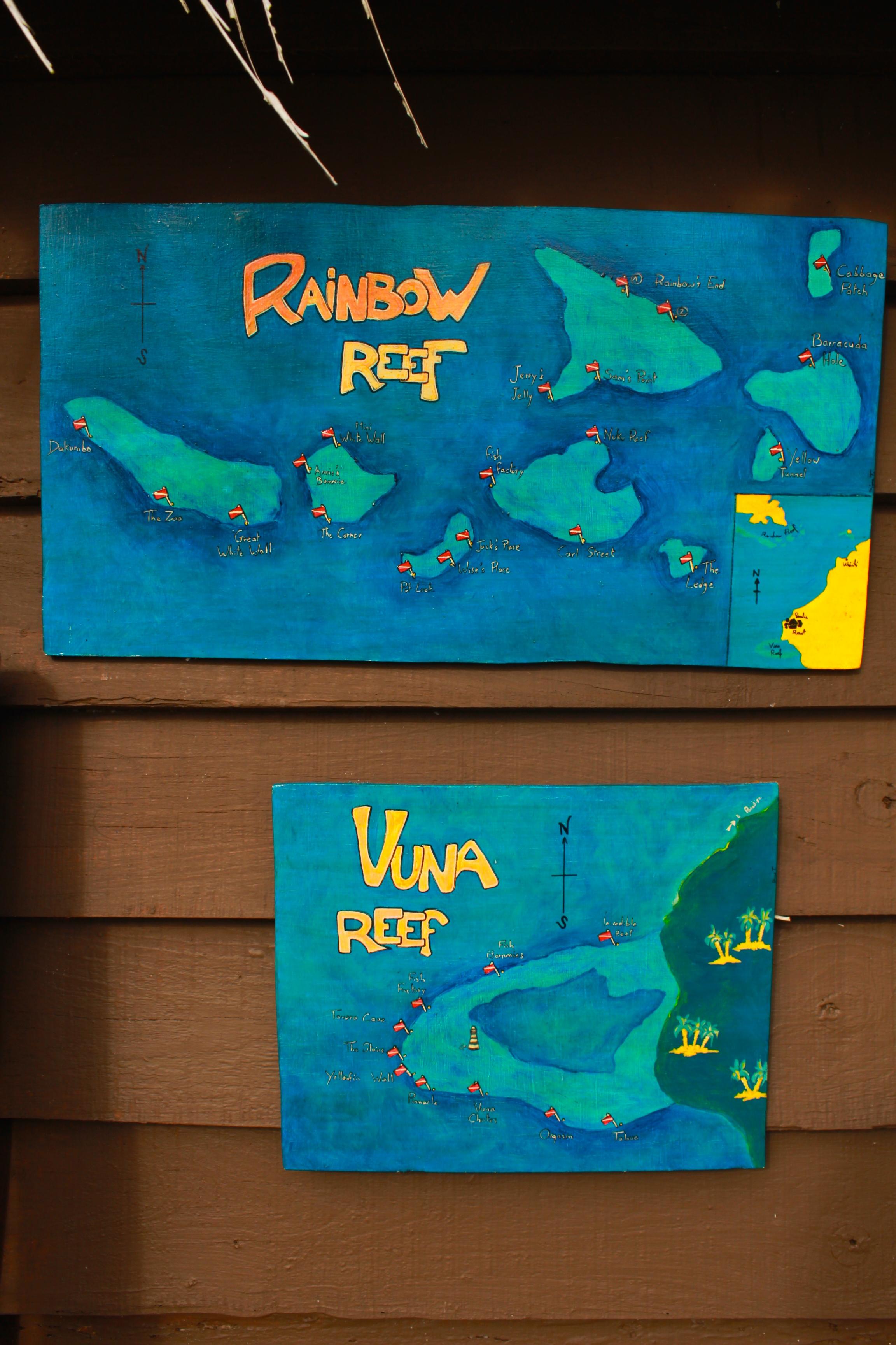 Vuna reef sign