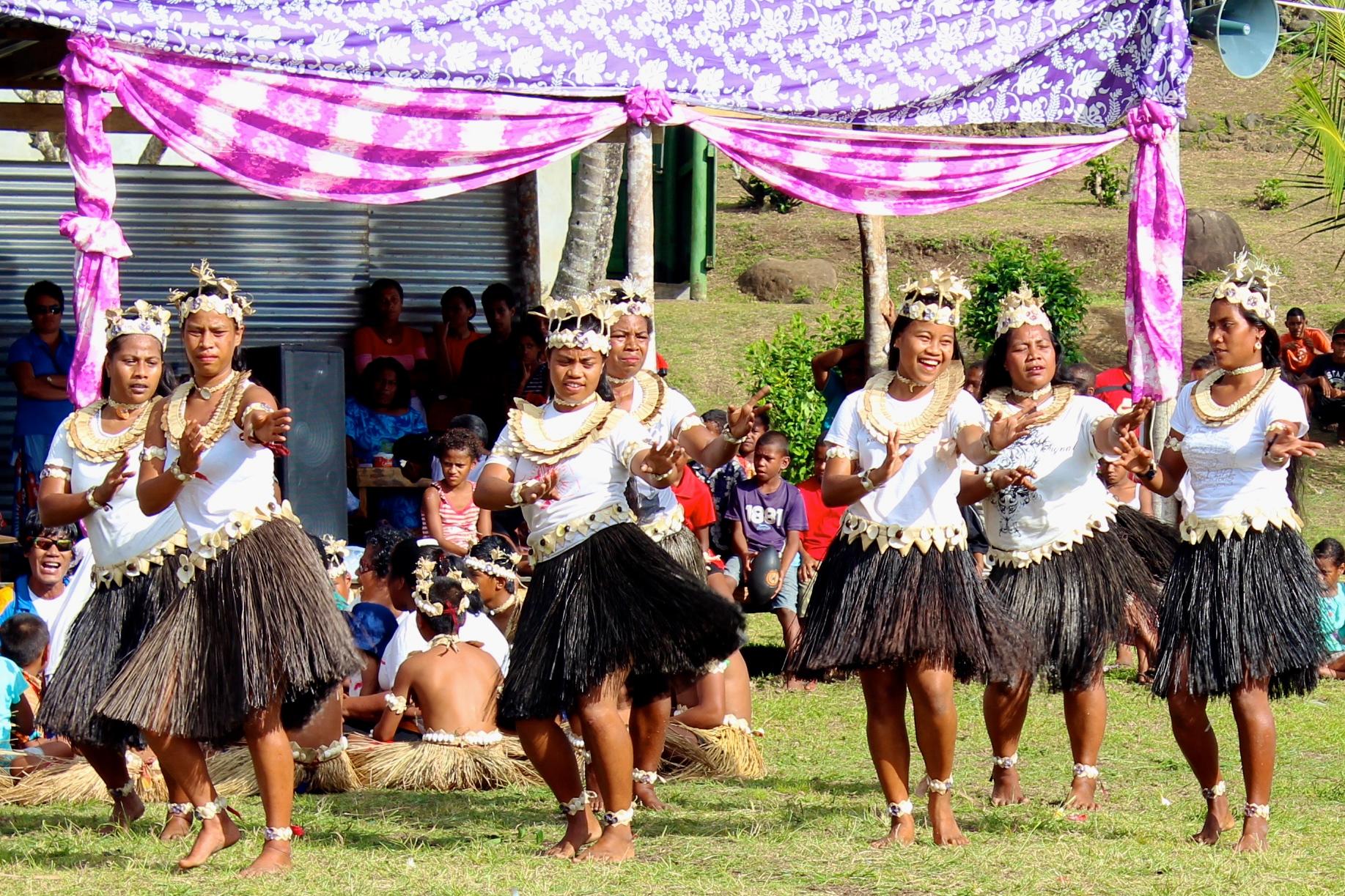 Banaban dancers