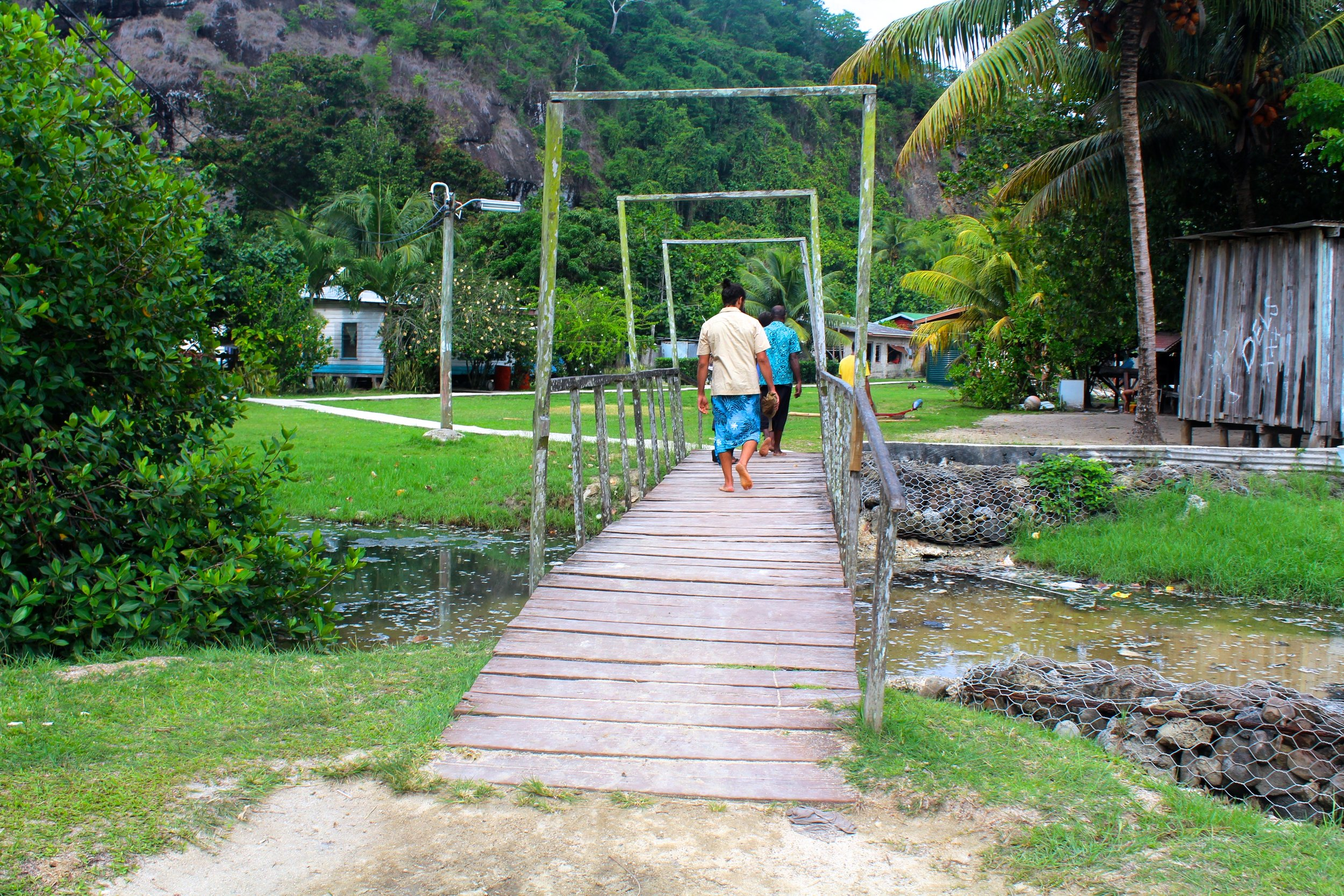 Bridge on Kioa