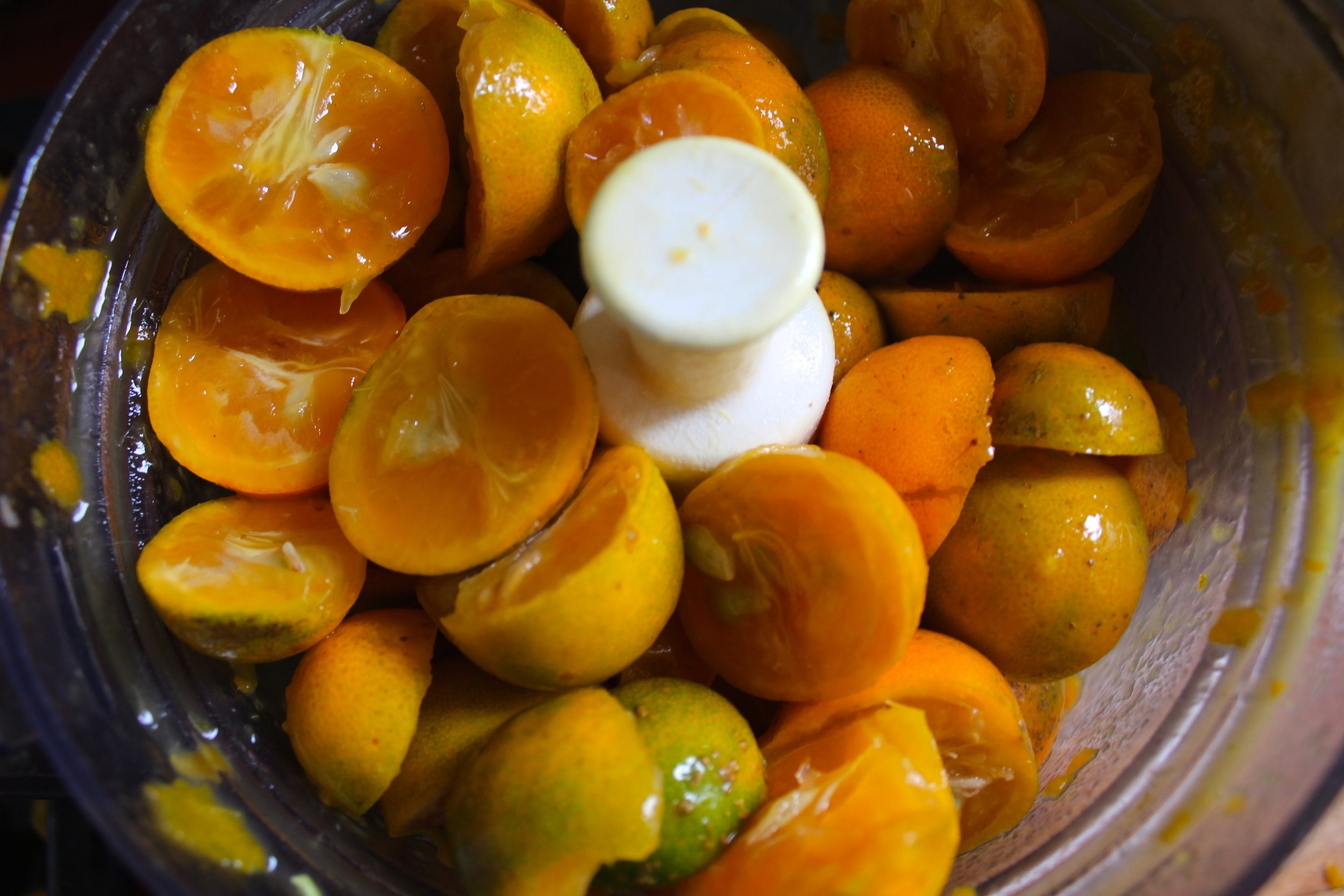 Processing Kumquats