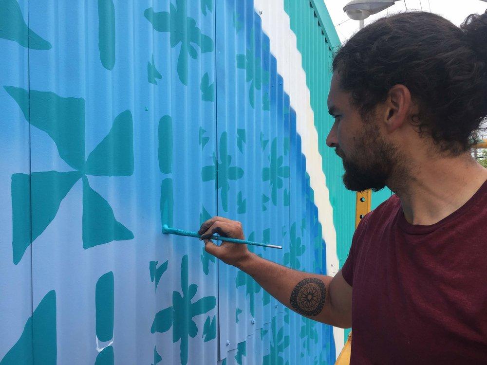 Jack painting kesa kesa designs