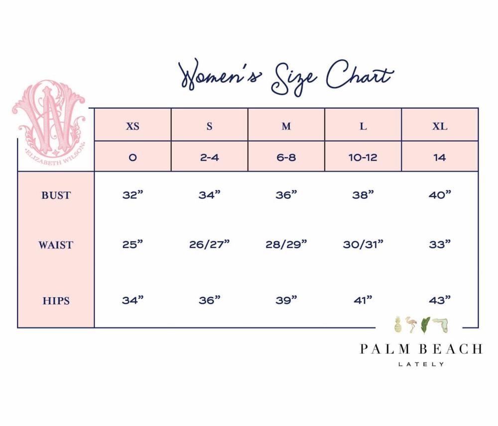 PBLx EWD WOMENS SIZE CHART