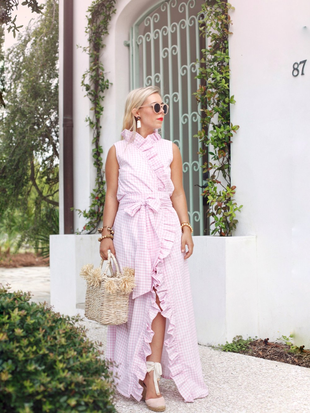 FOR THE LOVE OF GINGHAM! - Our love (obsession, really!) of gingham check continues. You'll find this favorite print of ours scattered throughout our Summer collection.One of our favorite styles for dressier occasions, the Anne Claire Ruffle Wrap Dress is the perfect gingham statement. Shop the Anne Claire Ruffle Wrap Maxi.