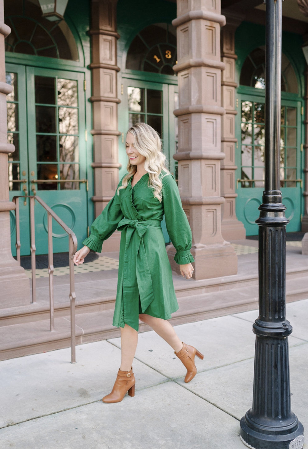 The JILLIAN dRESS - We collaborated with Jillian eversole of the blog rhyme & reason to create the perfect festive dress to wear the entire holiday season.