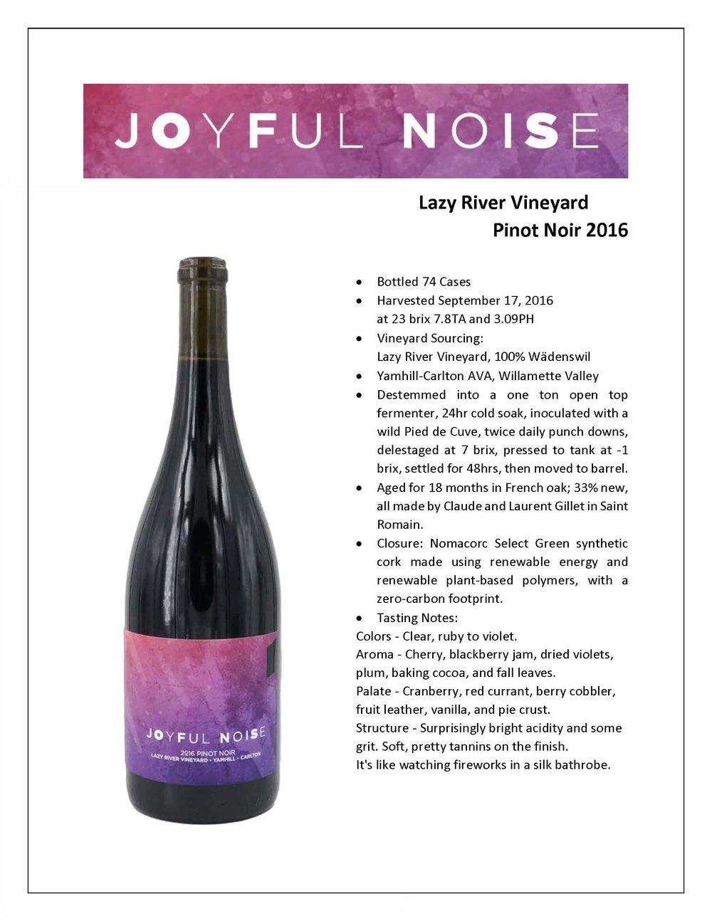 Joyful Noise Lazy River Vineyard PN 2016 Tech Sheet.jpg